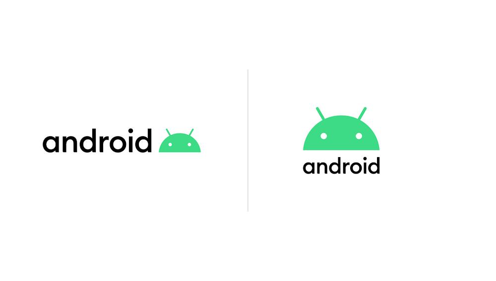 新しいアンドロイドのロゴマーク