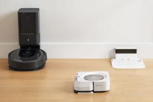 ルンバi7+、i7の掃除が終わり次第 自動的に拭き掃除を開始する機能があります