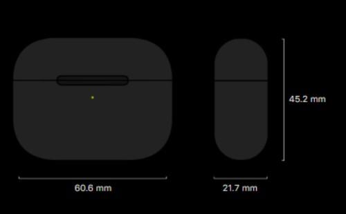 AirPods Proのケースサイズ