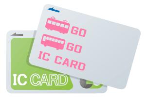 交通系ICカードイメージ イラスト
