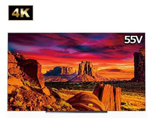 55型の4Kテレビの商品画像