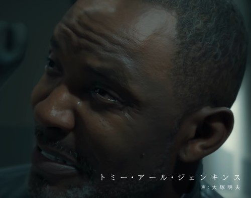 デス・ストランディングのダイハードマン役の顔 トミー・アール・ジェンキンス