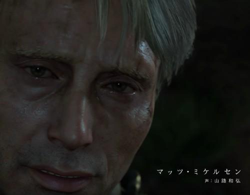 デス・ストランディングのクリフ役の顔 マッツ・ミケルセン