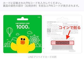 プリペイドカードの利用方法