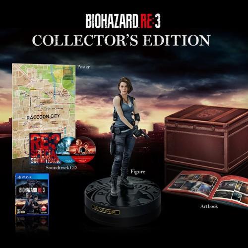 バイオハザードRE:3の豪華限定版のコレクターズエディションの画像