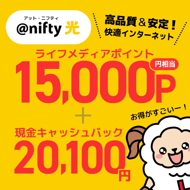 ライフメディアのポイントが15000ポイント貰えて、更にキャッシュバックが20100円もある!