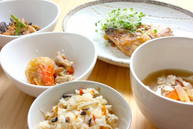 バランスの良い食事で免疫力アップ