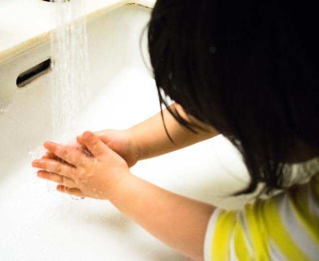 帰宅したら手洗いうがい