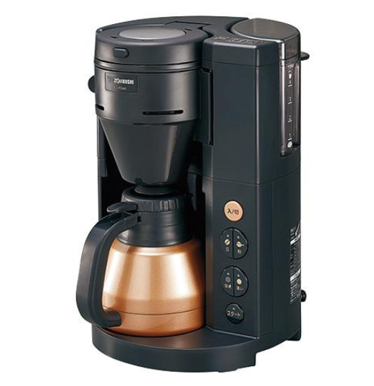 全自動コーヒーメーカー 珈琲通 ブラック  EC-RS40-BA