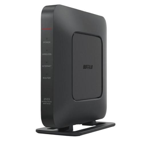 BUFFALO  バッファロー 無線LAN親機 11ac/n/a/g/b 1733+800Mbps ブラック  WSR-2533DHPL2-BK  商品コード:4981254051320