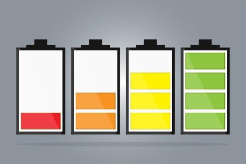 バッテリーのイメージ図