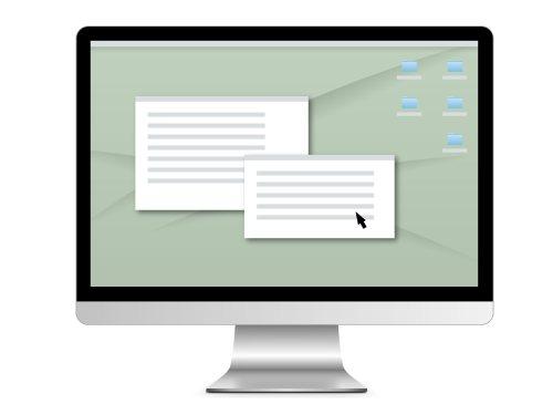 一体型パソコンのイメージ画像