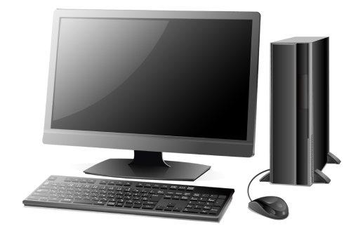 タワー型デスクトップパソコンのイメージ画像