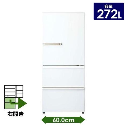 【アクア】冷蔵庫 AQR-27J-W