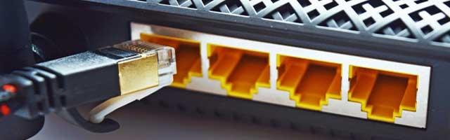 ルーターの接続のイメージ