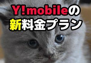 2020年7月版】Y!mobile(ワイモバイル)の料金プランを解説!のicatch