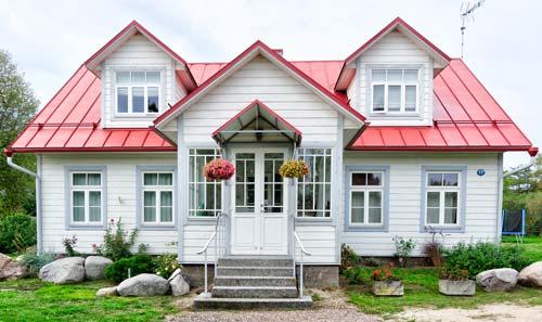 一軒家の写真