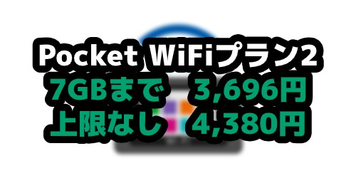 ポケットWi-Fiのプラン