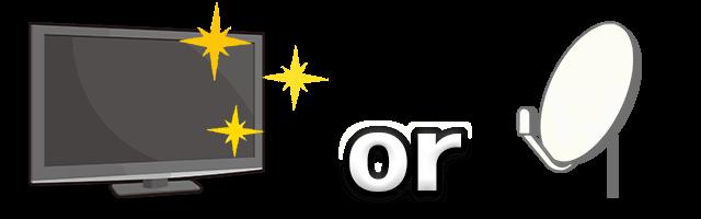 110度CS対応(BS・CS放送を視聴できる)の、テレビかレコーダーを用意