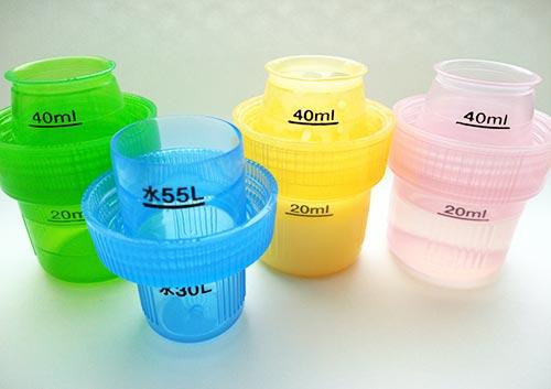 洗濯用洗剤ボトルのふたの写真