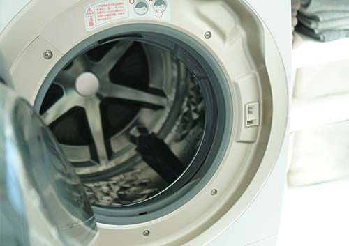 ドラム式洗濯機の写真