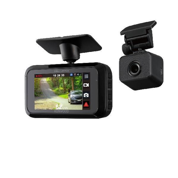 ケンウッド スタンドアローン型前後撮影対応2カメラドライブレコーダー DRV-MR745 商品コード:4975514060665