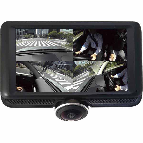 エルソニック 360度ドライブレコーダー EK-DR36X 商品コード:0479960010082