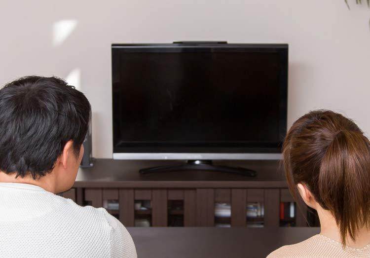 テレビが映らない