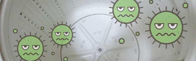 洗濯槽にカビ