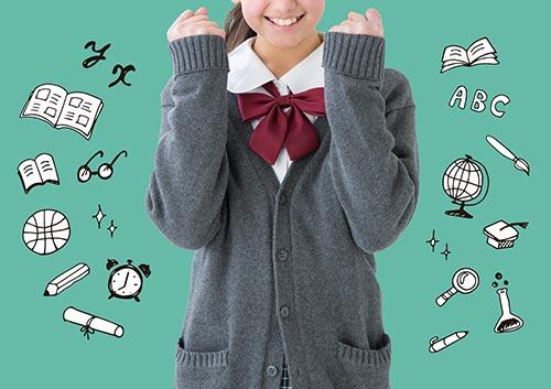 女子学生のイメージ画像