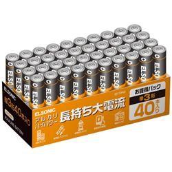 単3アルカリ電池40本パック  EGT3P40 商品コード:0479960011027