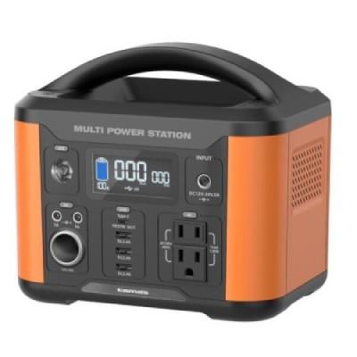 ポータブル電源 120W オレンジ  TL108OR 商品コード:4518707296894