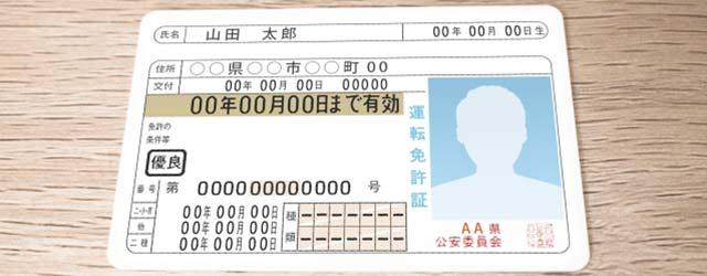 免許のイメージ