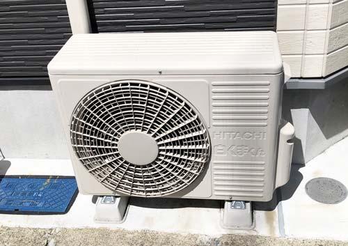 エアコンの室外機の写真