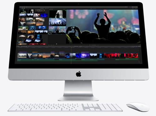 iMac正面画像