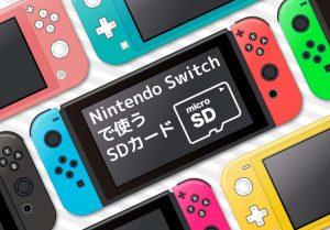 Nintendo Switchで使うSDカード サムネイル画像