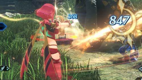 Xenoblade2(ゼノブレイド2)プレイ画像