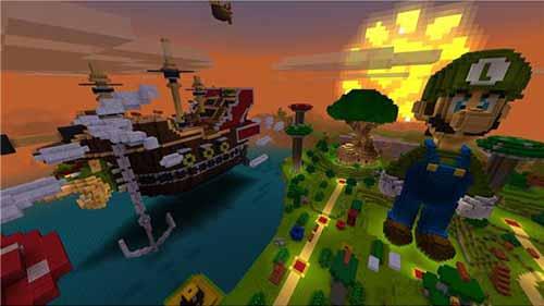 Minecraft(マインクラフト)プレイ画像