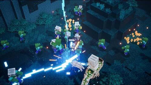 Minecraft Dungeons Hero Edition(マインクラフト ダンジョンズ ヒーロー エディション)プレイ画像