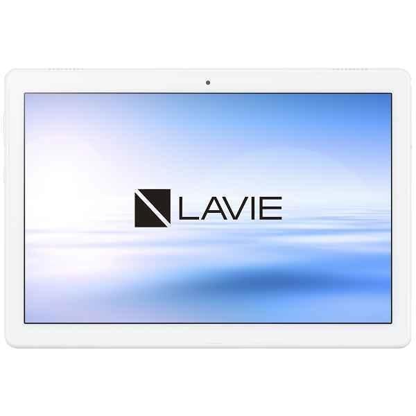NEC 10インチタブレット LAVIE Tab E TE710/KAW Android9.0/Qualcomm Snapdragon450/メモリ4GB/ストレージ64GB ホワイト  PC-TE710KAW 商品コード:4562447048053