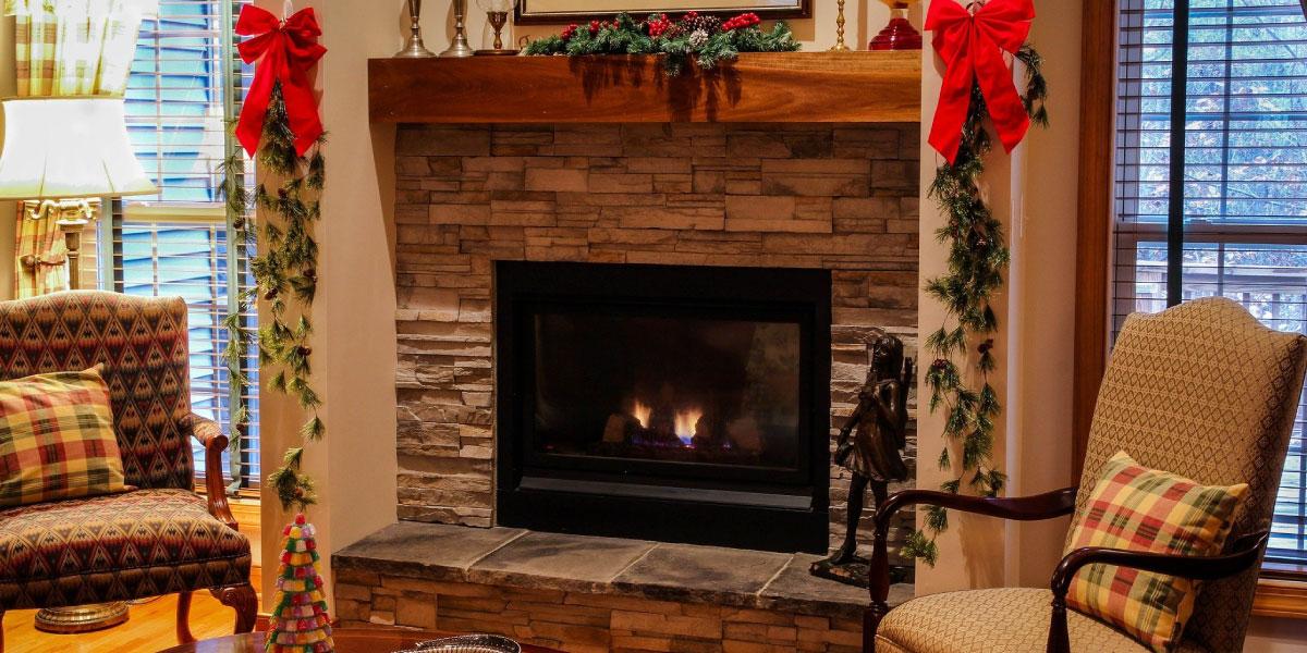 暖炉の画像