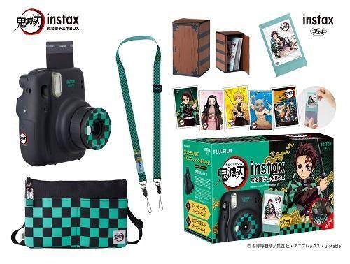 【当選者専用商品】【2020年12月10日発売】   インスタントカメラ チェキinstax mini 11 鬼滅の刃 炭治郎チェキBOX  INSMINI11KIMETSUGRAY
