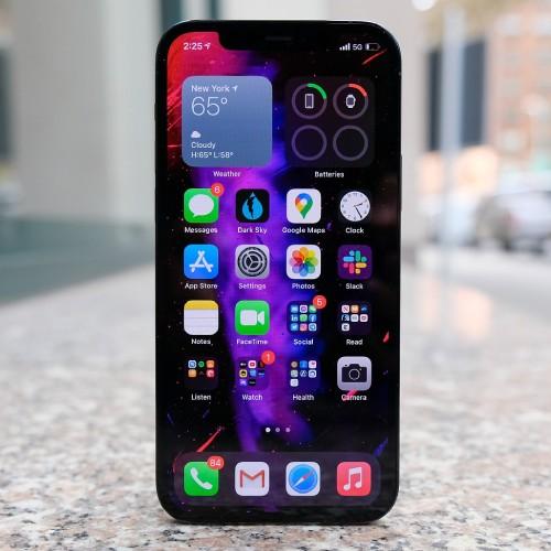 iPhone12の前面のイメージ
