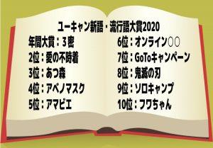 ユーキャン新語・流行語大賞2020 年間大賞は「3密」のアイキャッチ
