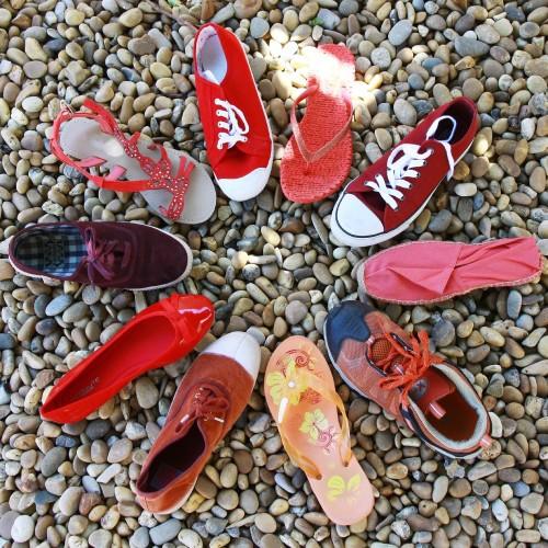 いろんな靴