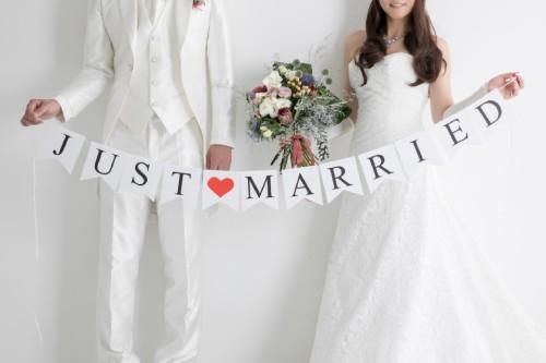 結婚しました、の報告イメージ