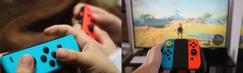 ニンテンドースイッチはJoy-Con(ジョイコン)で新しい遊び方ができる