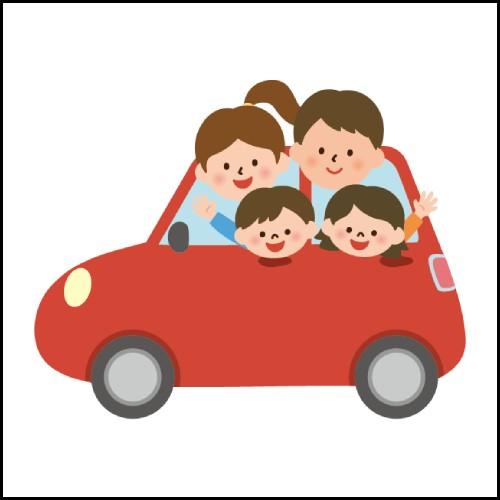 家族でドライブのイメージ
