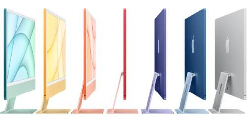 iMacのカラーバリエーション