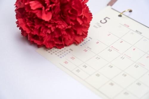 2021年の母の日はいつなの?